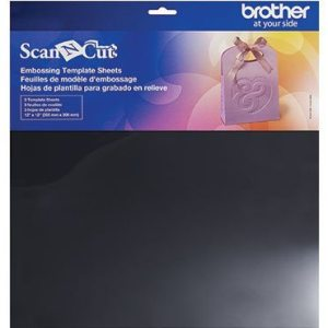 BROTHER SCANNCUT Embossing Sjabloonvellen Embossing Template Sheets CAEBSTS1 4977766766807 Cityplotter Zaandam