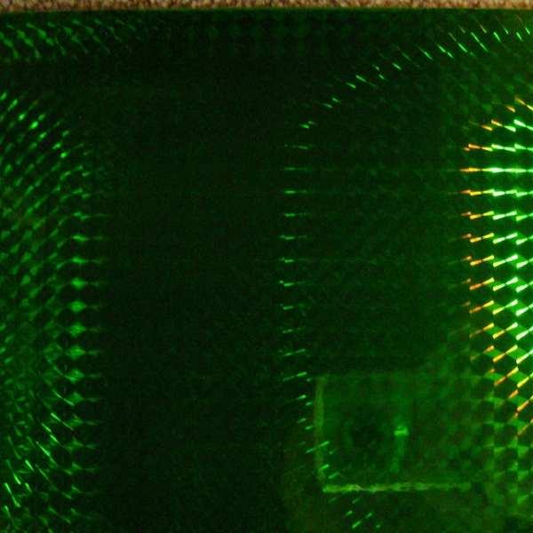 Vinylfolie speciaal spiegel groen mirror green VS 2606