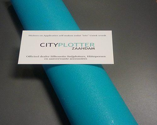 Siliconenmat Mat Voor Hittepers Blauw Silicone Mat Persmat for the heatpress blue Cityplotter Zaandam