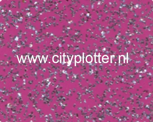 Flexfolie Speciaal Glitter Blauw Glitter Blue SS 3845 Cityplotter Zaandam