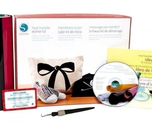 Silhouette starterset Flex en Flockfolie heat transfer starter kit KIT-HEAT-TRANS-3T 814792011799 Cityplotter Zaandam