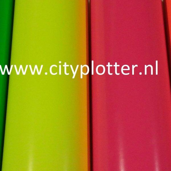 neon fluor vinylfolie cityplotter zaandam