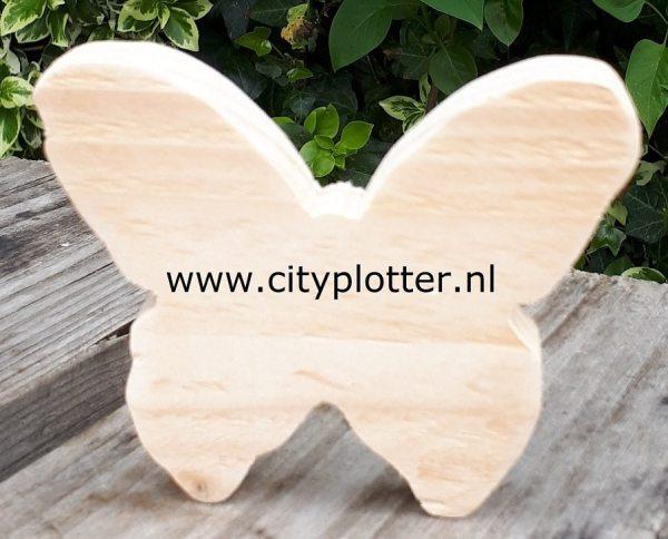 hout vlinder cityplotter zaandam