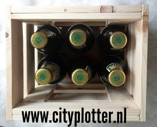 kistje 6 flesjes cityplotter zaandam
