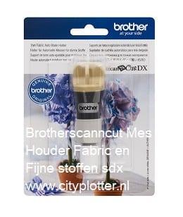 Brother scanncut Mes Houder Fabric Fijne stoffen sdx Cityplotter Zaandam