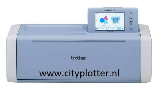 BROTHER SCANNCUT SDX1200 nieuwste snijplotter GRATIS ROLLFEEDER 10% KORTING Cityplotter Zaandam