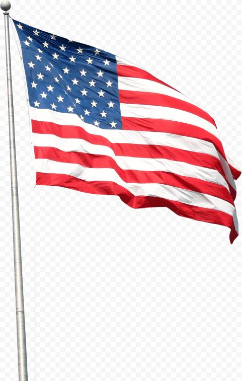 American Flag Waving Png : american, waving, Realistic, Waving, American, Citypng