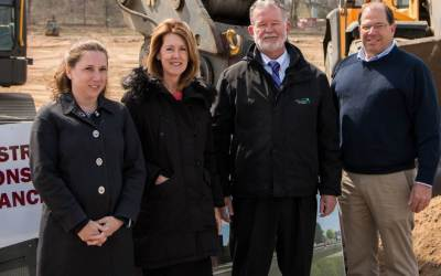 City Point Partners Celebrates the Groundbreaking of the PVTA's New Operations and Maintenance Facility