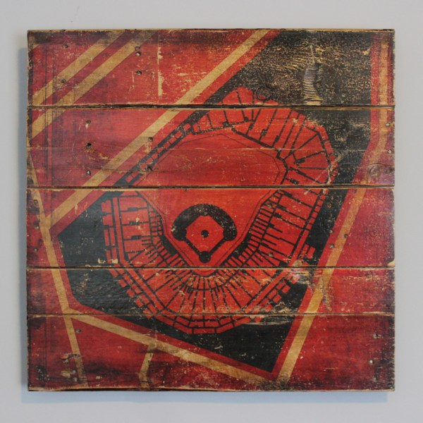 Fenway Park Reclaimed Wood Art Panel - City Prints