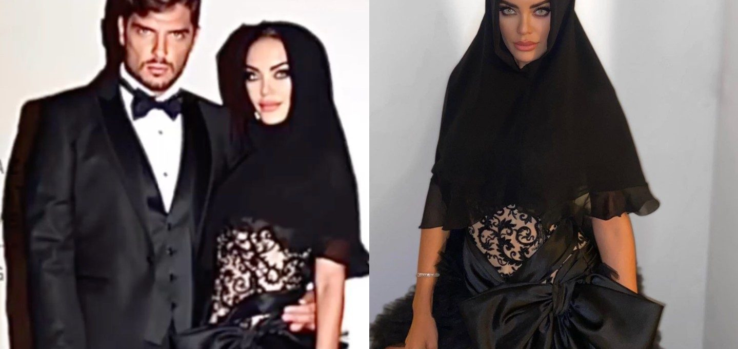 mostra-del-cinema-di-venezia,-elena-morali-sul-red-carpet-con-l'hijab