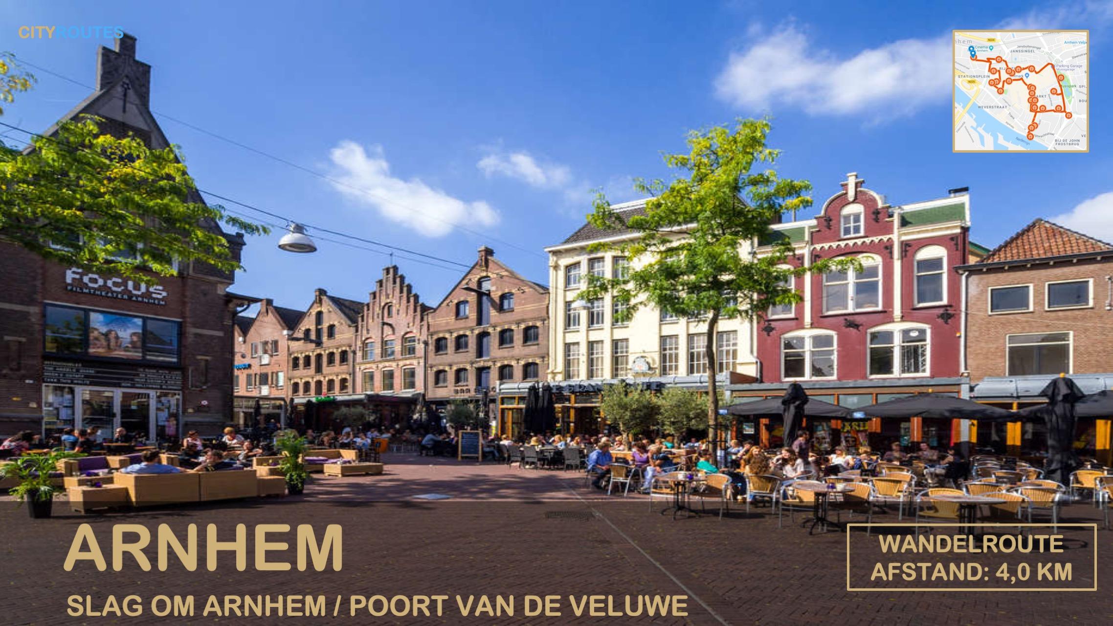 Gratis stadswandeling Arnhem Cityroutes