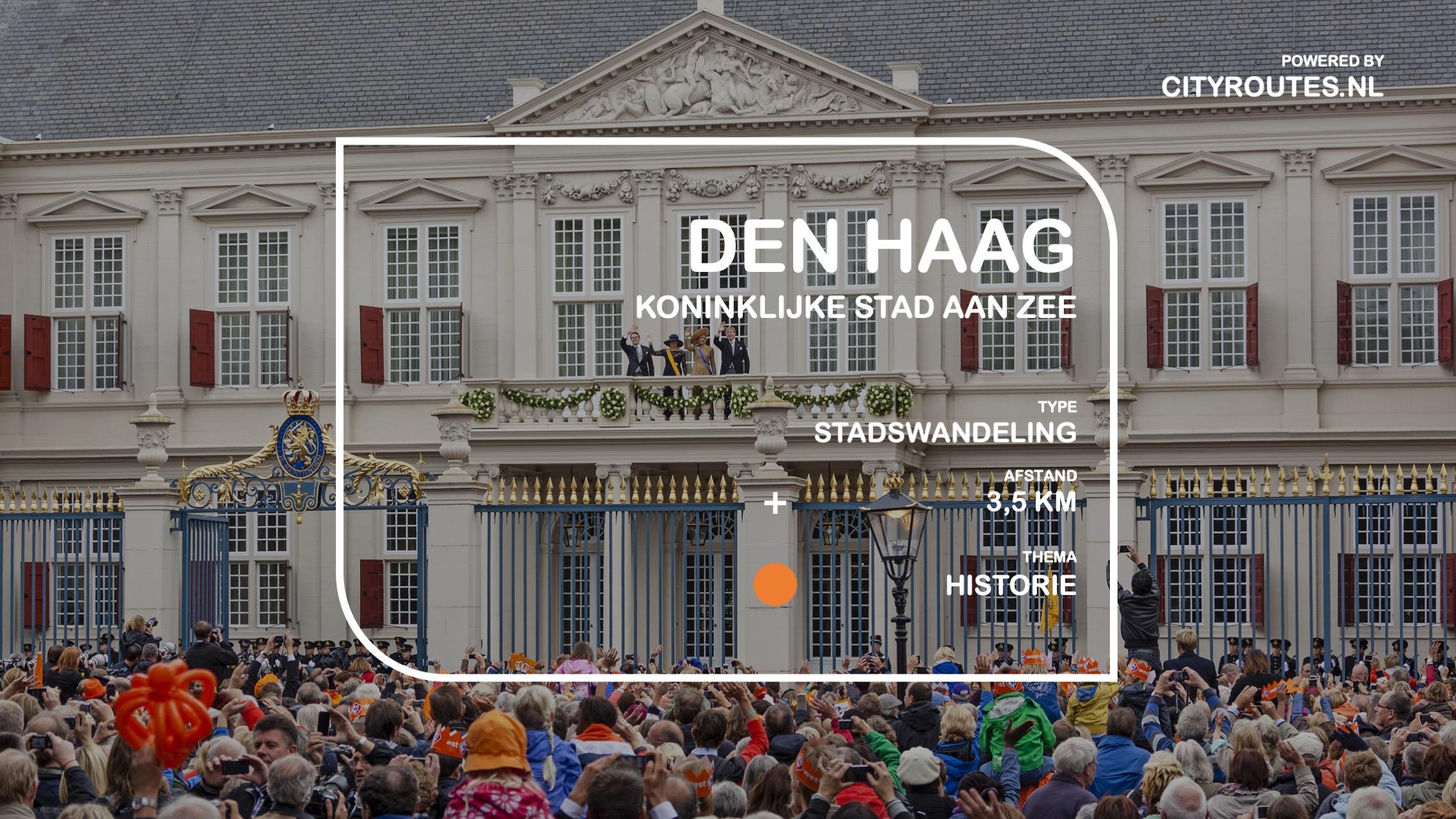 Gratis stadswandeling Den Haag