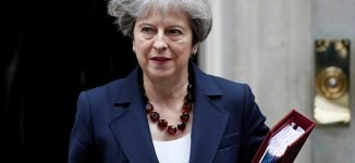 Theresa May Announces Resignation In Emotional Speech