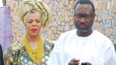 Billionaire Businessman Femi Otedola Celebrates Wife At 50