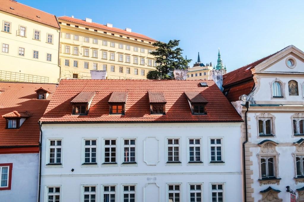 Hotel in Nerudova Street Prague