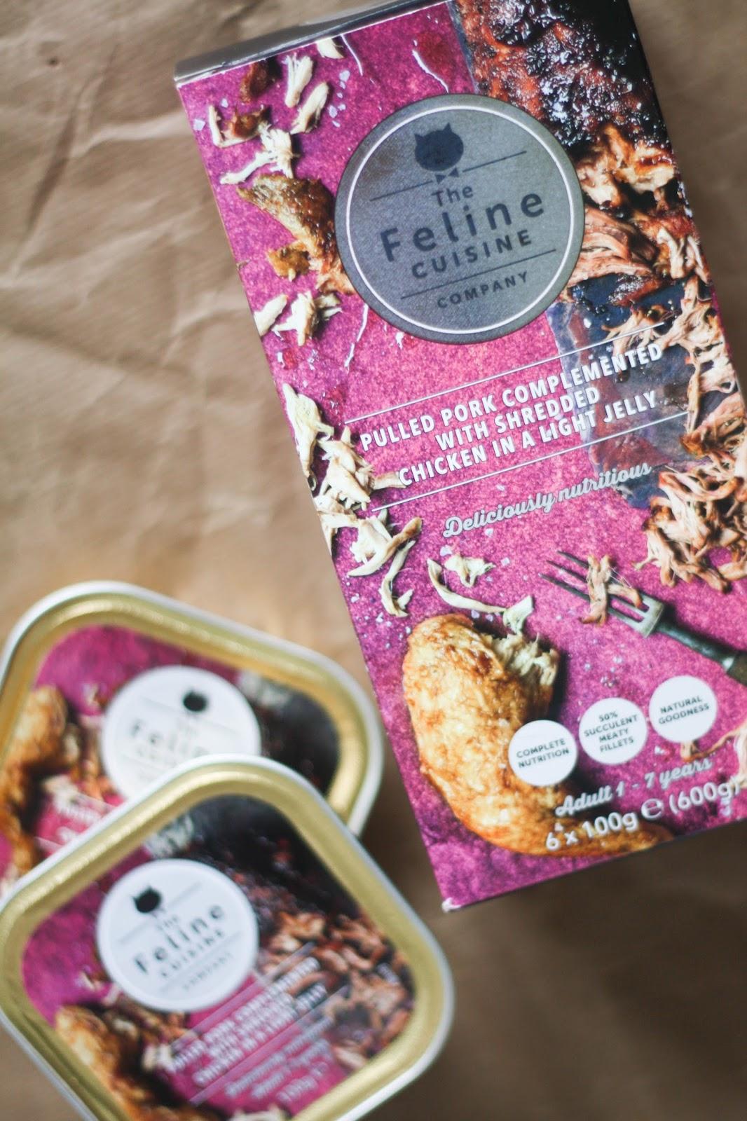 Feline Foodology: The Feline Cuisine menu