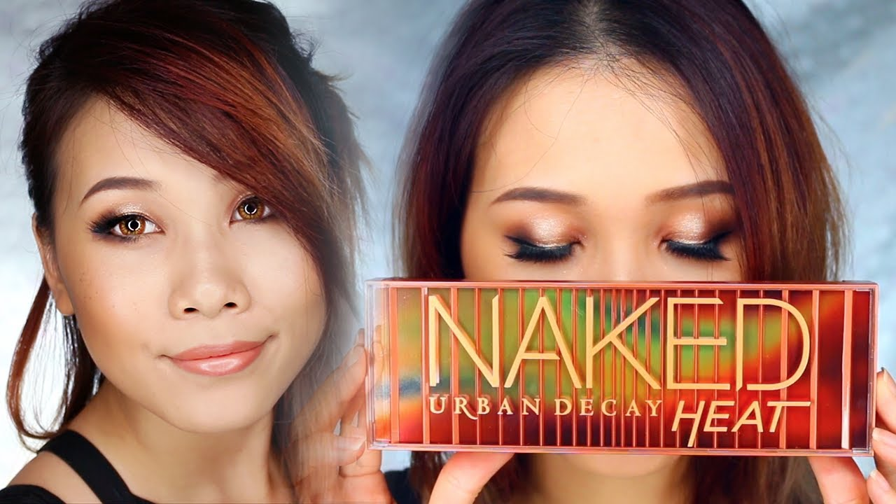 Urban Decay Heat Palette - a review & 20 different looks