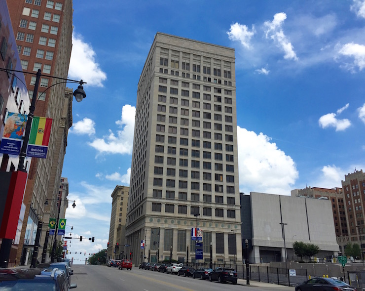 two major hotel projects in downtown kansas city continue. Black Bedroom Furniture Sets. Home Design Ideas