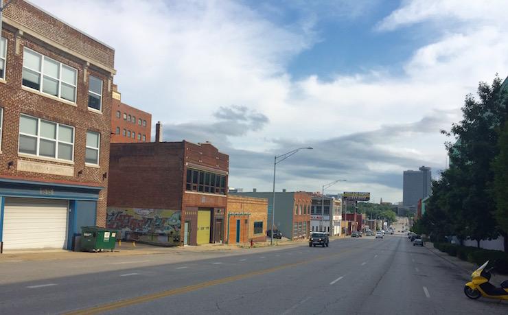 Oak Street diagonal