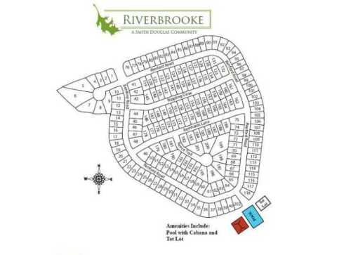 River Brooke Site Plan Cherokee County