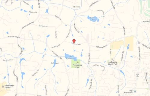 Cooper Sandy Milton Subdivision Location