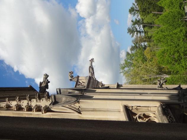 Gargoyles on the Biltmore Estate