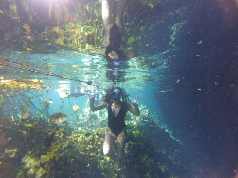 Cenote Snorkeling Mexico
