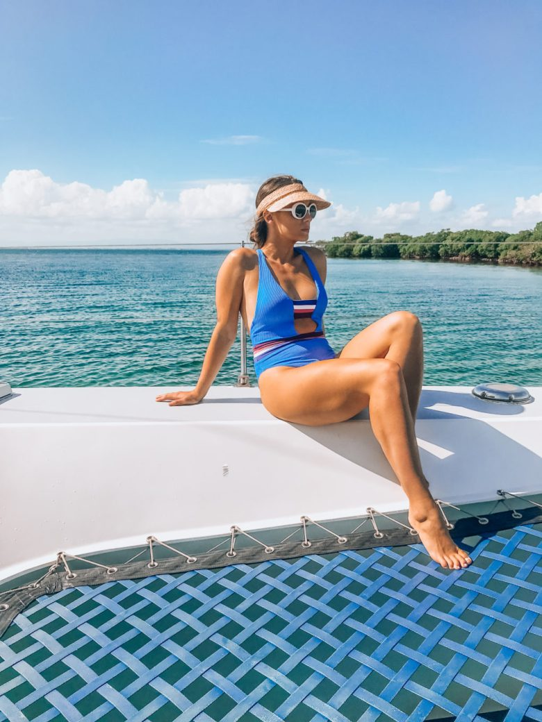 Catamaran in Belize @mattisonheatherly