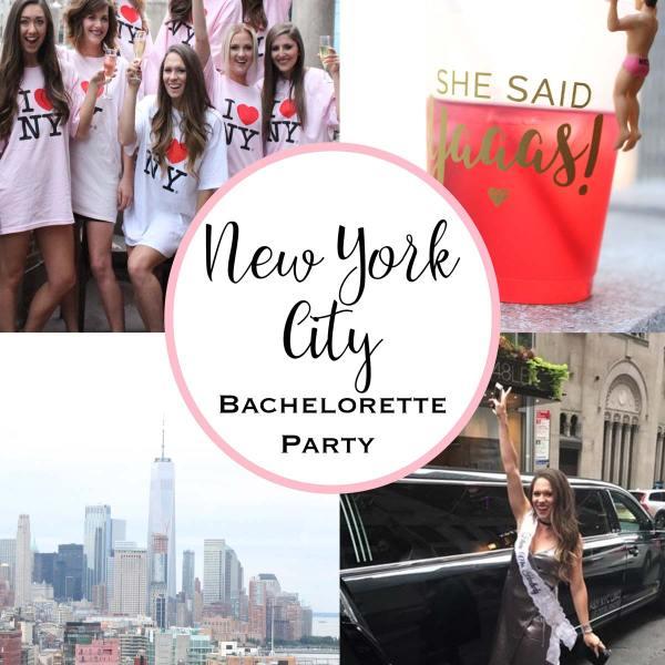 New York City Bachelorette Party