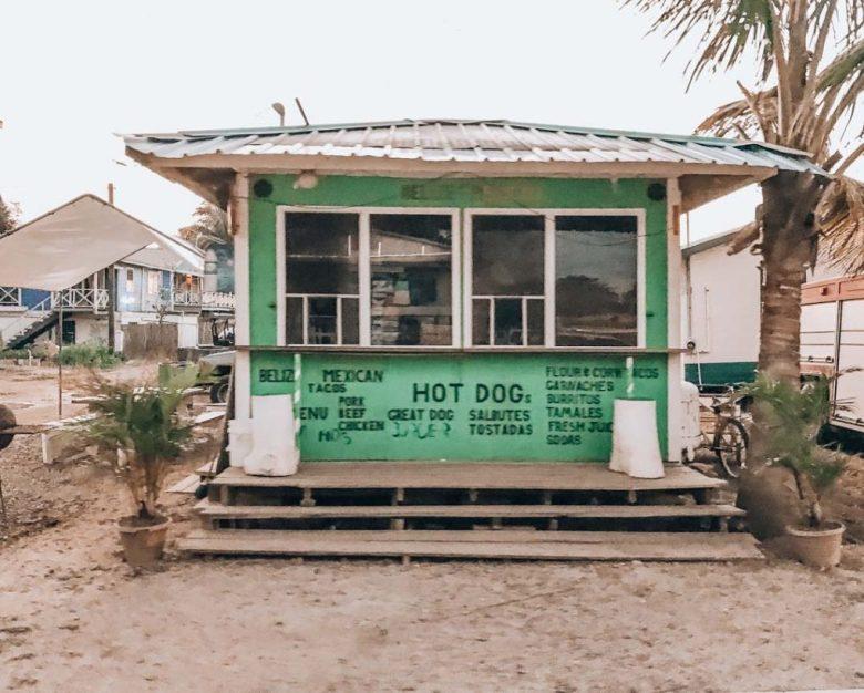 Burrito Hut in Placencia