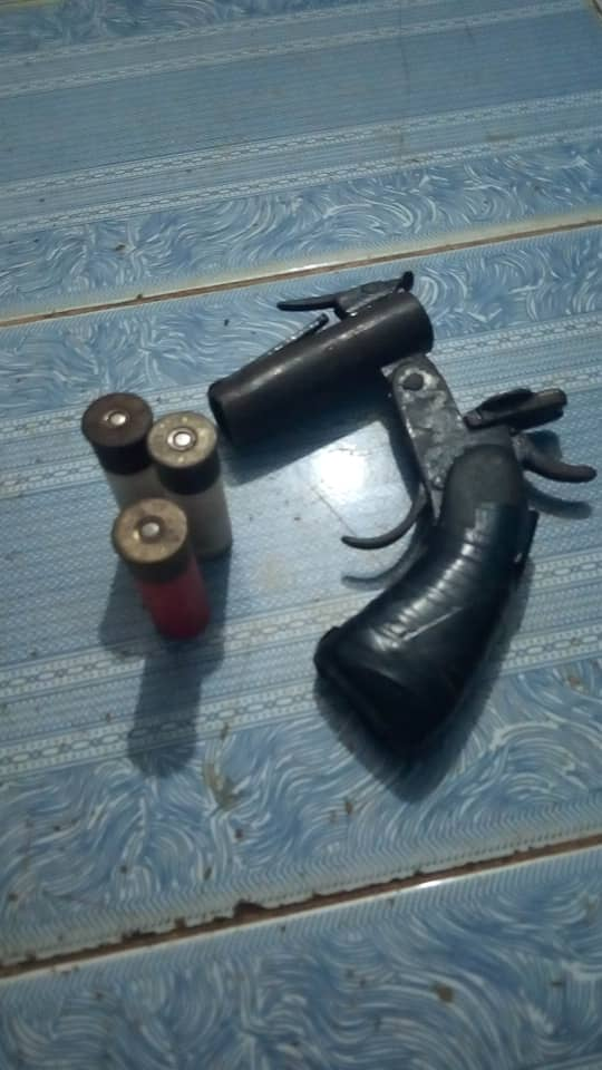 Recovered Locally made Pistol