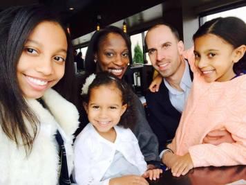 Sofia, CeCe, Leigh, David and Stella
