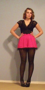 high waist shorts with tights