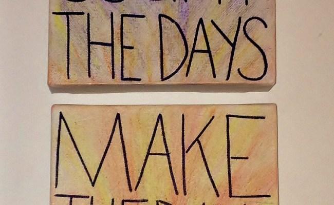 Diy Canvas Wall Quote Aiyana Jane