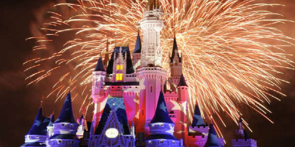 Image result for photos of july 4 magic kingdom fireworks