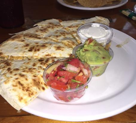 Quesadillas with Protein