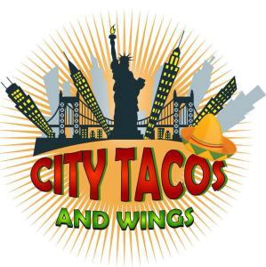 City Taco and Wings logo