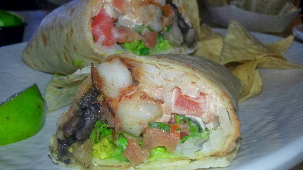 City Shrimp Burrito