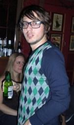 Glasses, Loud Vest, 2 points