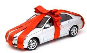 """Nothing says """"I'm glad Jesus was born like adding a monthly car payment to your beloved's budget."""