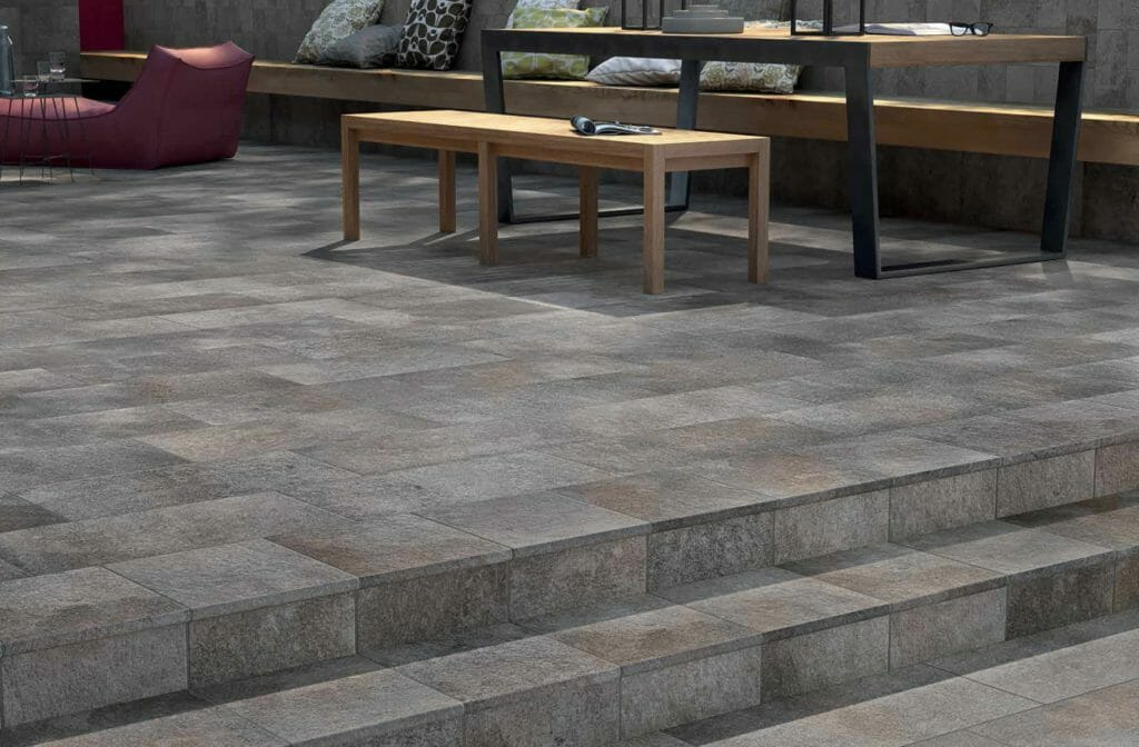 Looking for outdoor patio ideas think Porcelain tile