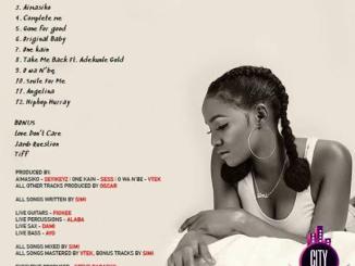 Simi — Simisola Full Album Mixtape