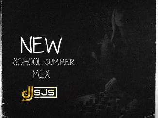 Dj Sjs New School Summer Mix Artwork