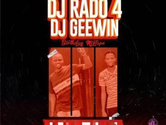 DJ Rado — 4 DJ Geewin Birthday Mix