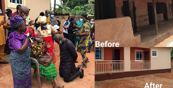Anambra lawmaker, Nonso Okafor transforms the lives of three aging childless widows