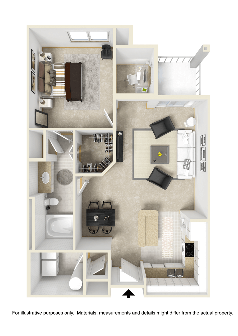 Apartment Floorplans  City View Orlando Florida
