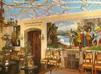 Sala del Cavaliere del Cigno, Castello di Hohenschwangau. Fonte: http://www.tuttobaviera.it/