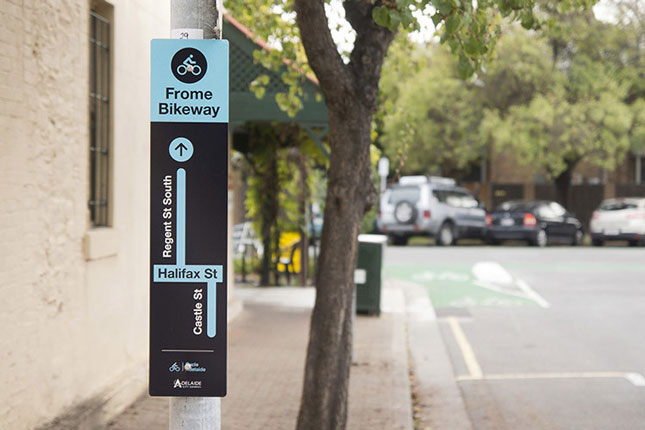 Frome Street Bikeway, Adelaide, Australia by Aspect Studios