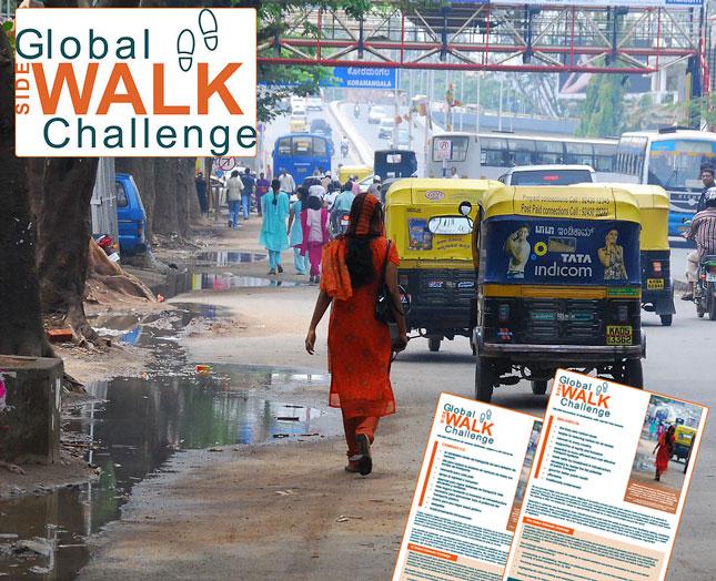 Walk21 Global Sidewalk Challenge