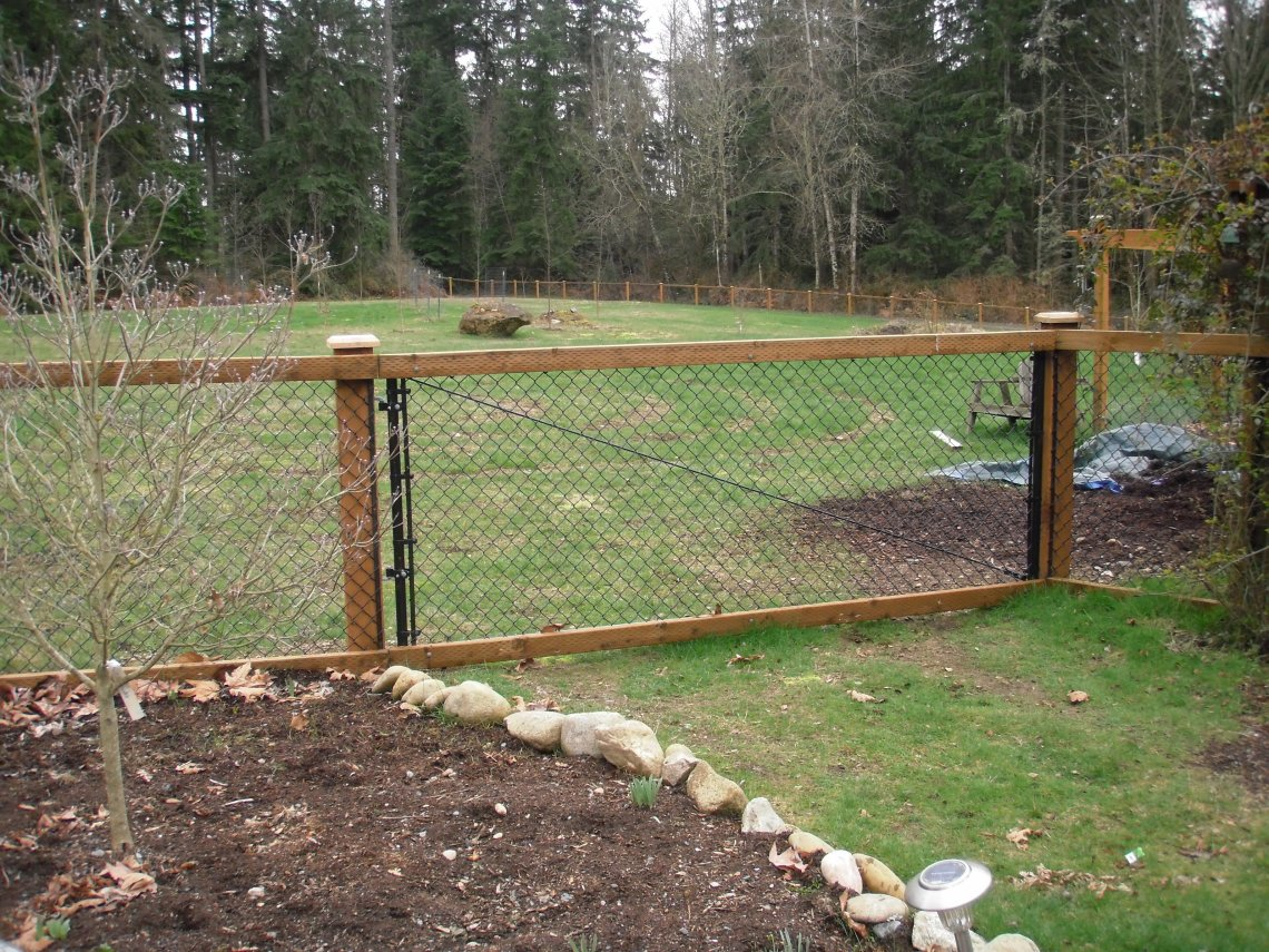 Image Result For Coated Chain Link Fence
